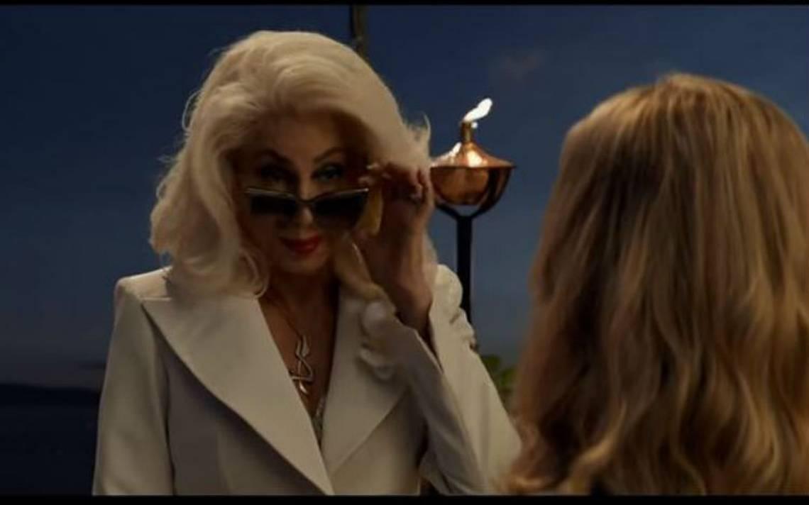 """Cher sorprende en primer avance de """"Mamma Mia! Una y otra vez!"""""""