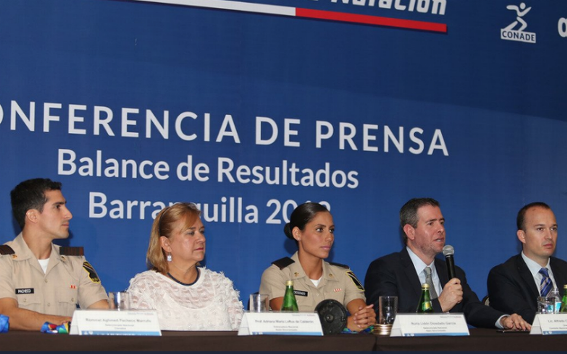Conade dará 50 mil pesos a medallistas de oro de Barranquilla 2018