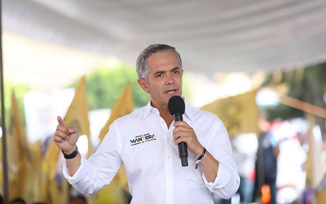 Mancera coordinará la bancada del PRD en el Senado