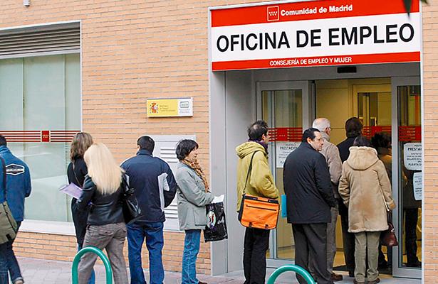 Desempleo sube en enero hasta los 3.76 millones de personas en España