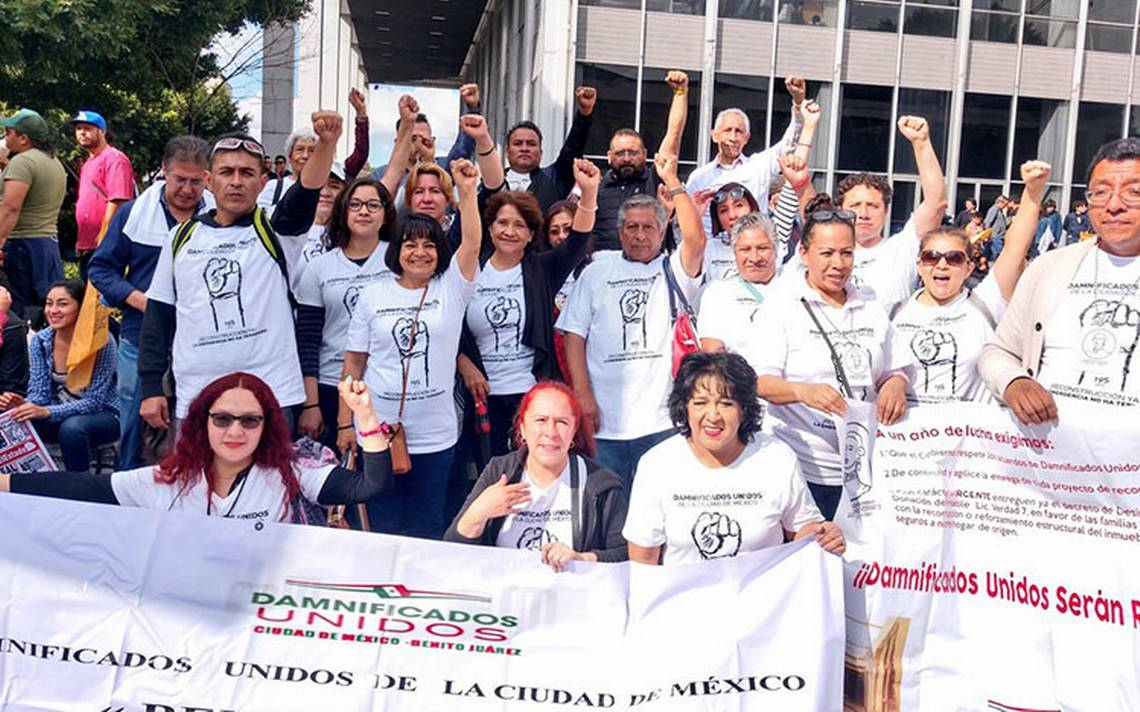 Damnificados piden censo incluyente