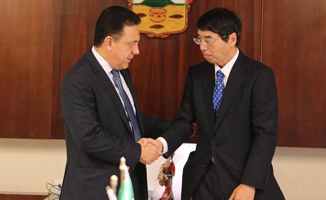 Hidalgo busca acuerdos con Japón