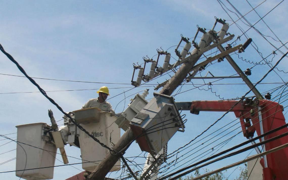 CFE aplica plan de contingencia en varios estados ante tormenta Bud