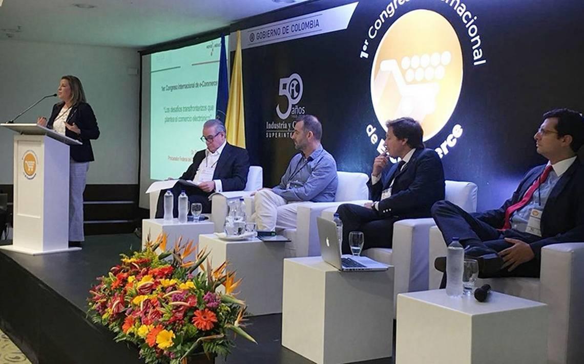 Profeco presenta ponencia de e-commerce en Colombia