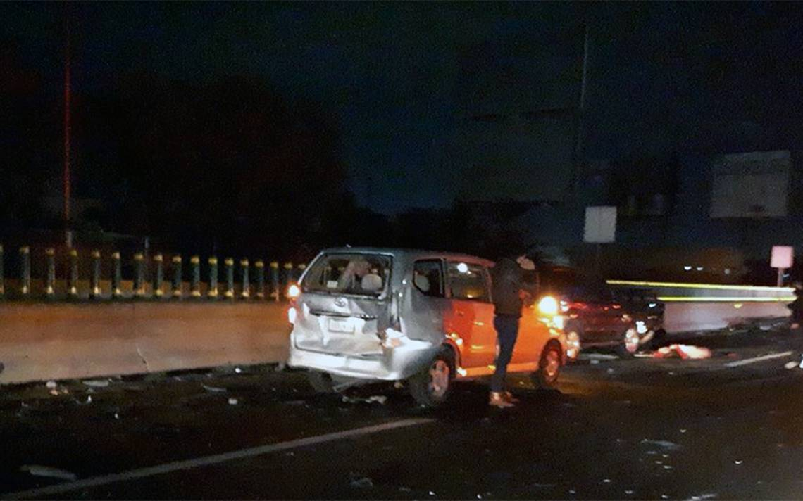 Carambola en la México-Pachuca deja dos muertos