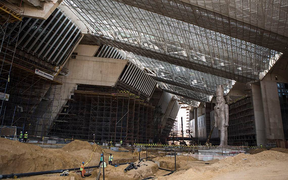 El Gran Museo Egipcio acerca a Tutankamón a las pirámides
