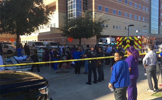 Policía descarta rastros de supuestos disparos en hospital de Houston