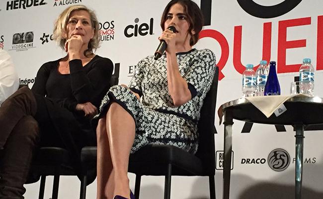 Karla Souza estrena el filme Todo Mundo Quiere a Alguien