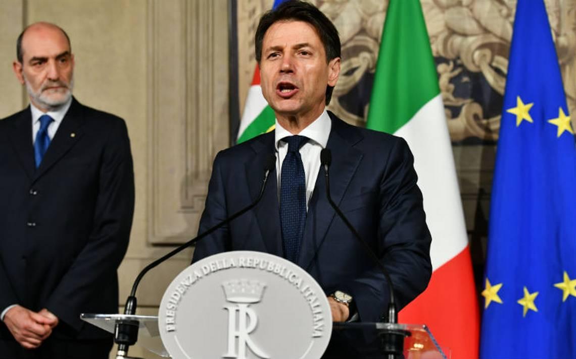 Giuseppe Conte renuncia a formar gobierno y abre crisis política en Italia