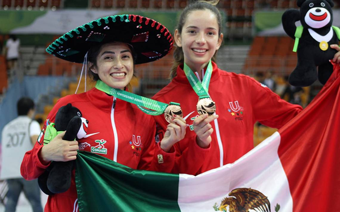 México, dos medallas de bronce en Taekwondo