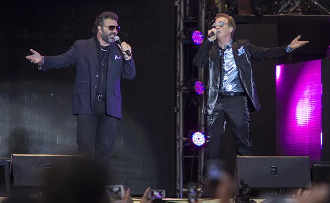 Músicos del show de Emmanuel y Mijares se quedan sin visa