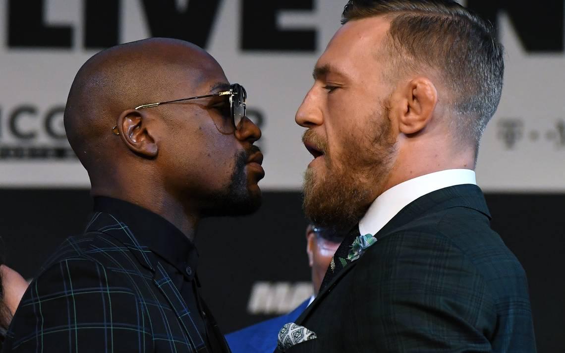 Floyd Mayweather Jr. y Conor McGregor ya están Las Vegas