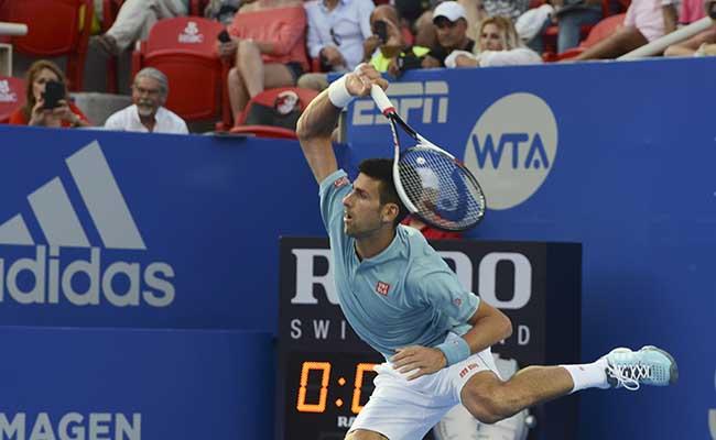 Djokovic debuta en Acapulco, avanza y espera a Del Potro