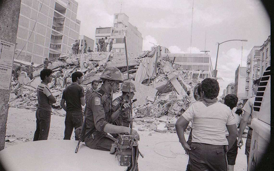 El terremoto de 1985 visto a través de estremecedoras fotografías