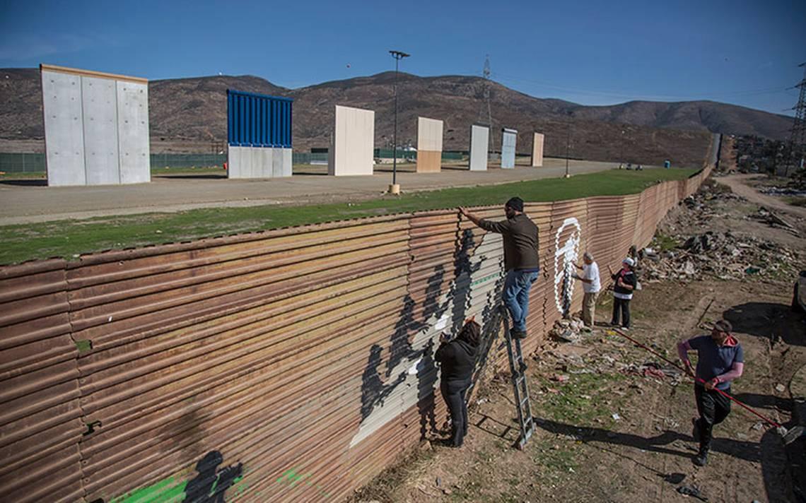 Migrantes mexicanos explican cómo cruzarán los muros de Trump