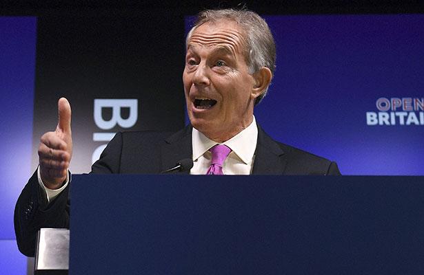 Tony Blair, en campaña contra el Brexit