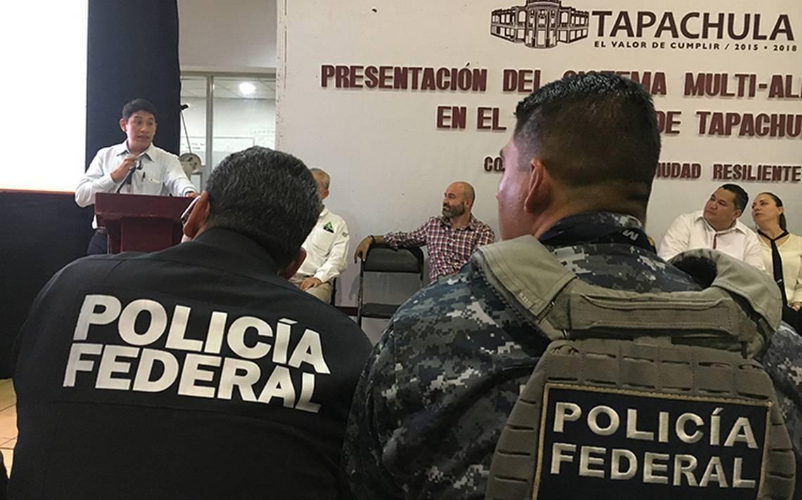 Instalan alertas sísmicas en Tapachula