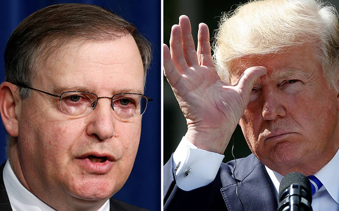 Renuncia Chuck Rosenberg, jefe de la DEA, por desacuerdo con Trump