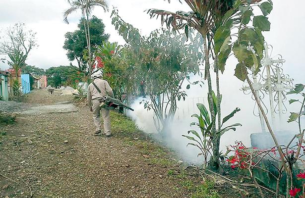 Veracruz, rebasado en dengue, zika y chikungunya en 2016