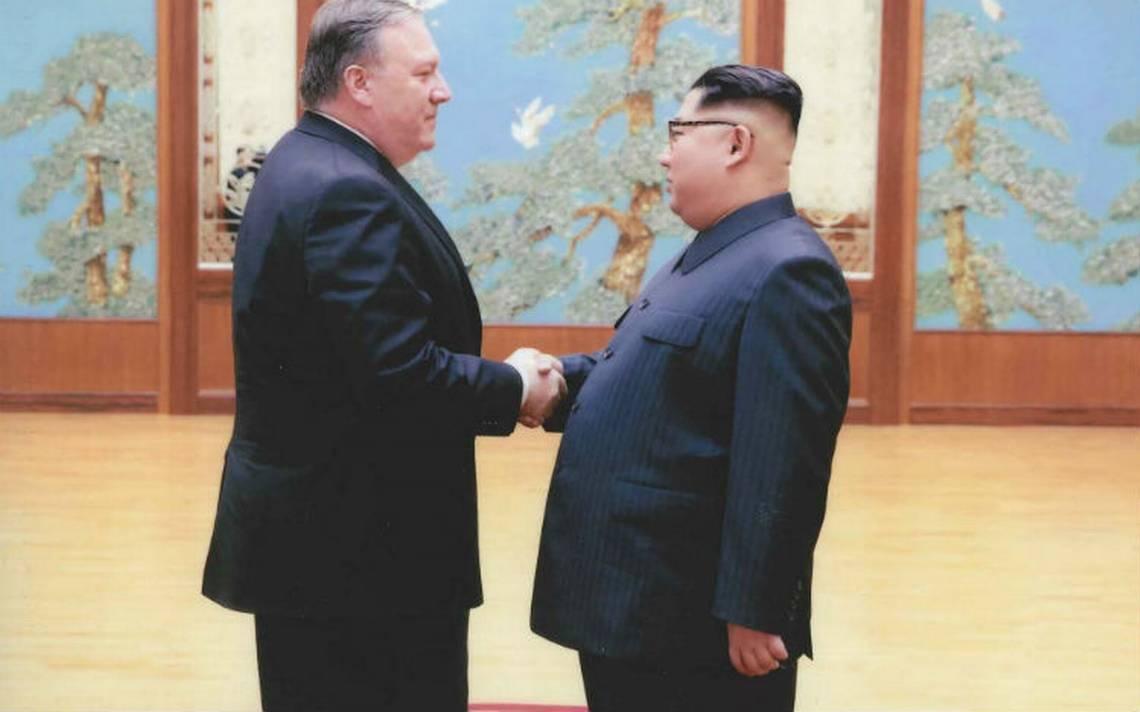 Pompeo en Corea del Norte para afinar reunión Trump-Kim