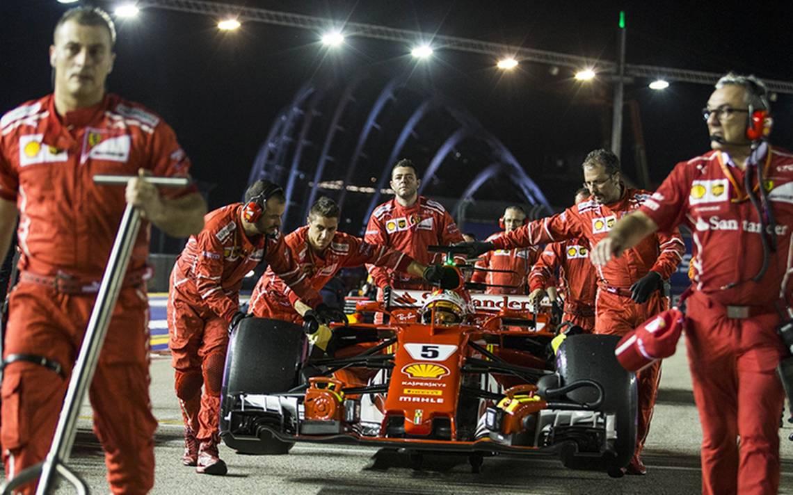 Ferrari no se rinde en el Gran Premio de Singapur