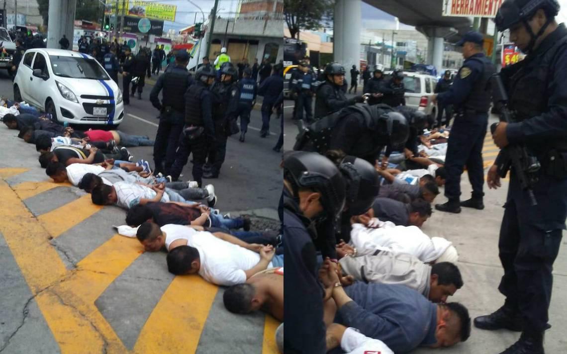 Vinculan a proceso a 22 de los 25 detenidos tras la balacera en Avenida Tláhuac