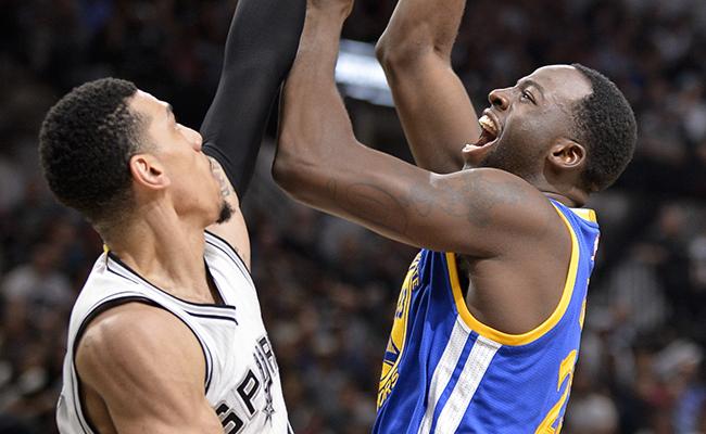 Los Warriors le ganaron 110-98  a los Spurs de San Antonio