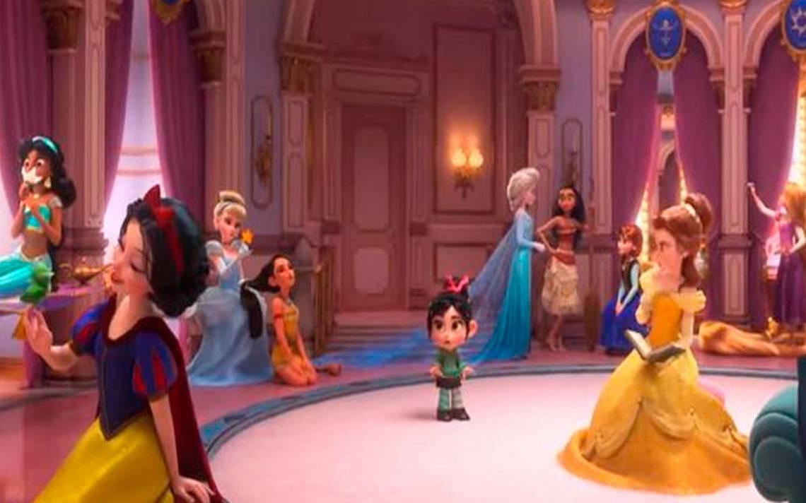 [Video] Todas las princesas de Disney se reúnen en nuevo trailer de Ralph El Demoledor