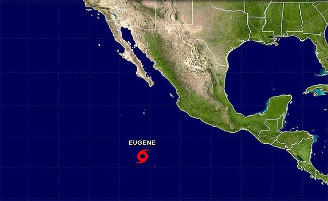 Se forma en el océano Pacífico la tormenta tropical Eugene