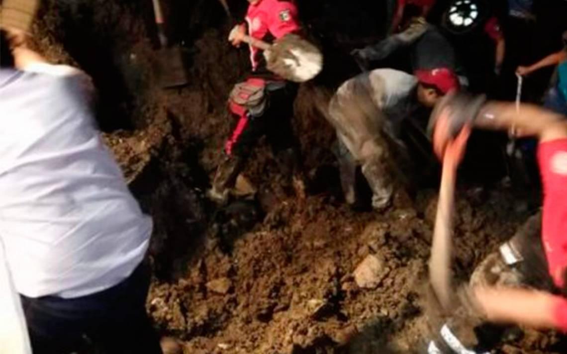 Niño de siete años muere sepultado mientras buscaba comida en basurero del Edomex