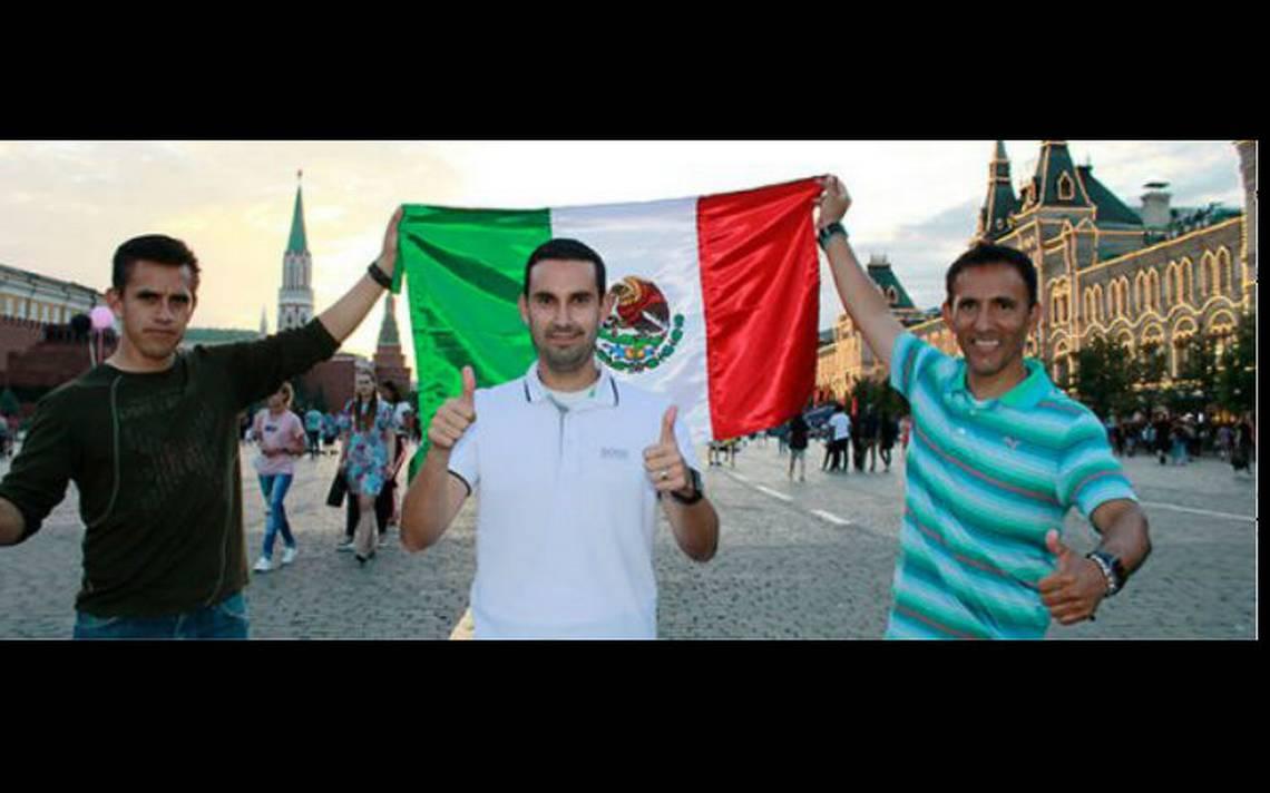 La tripleta mexicana cumplió el sueño mundialista