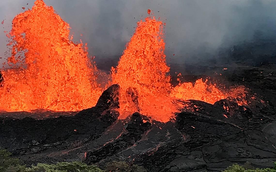 Volcán Kilauea vuelve a erupcionar y pone en riesgo energía eléctrica en Hawai