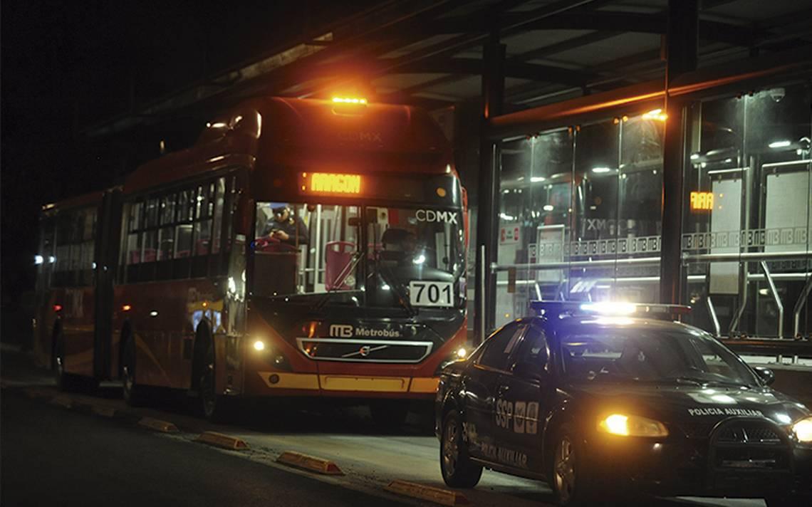Durante 2017, han capturado 39 presuntos delincuentes por robo en Metrobús