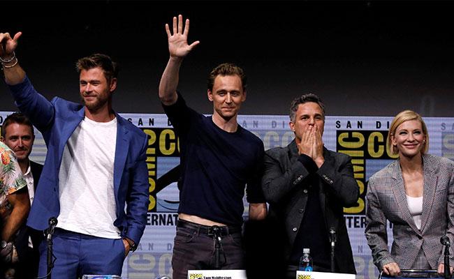 """""""Avengers"""", """"Thor"""" y """"Black Panther"""", las armas de Marvel"""