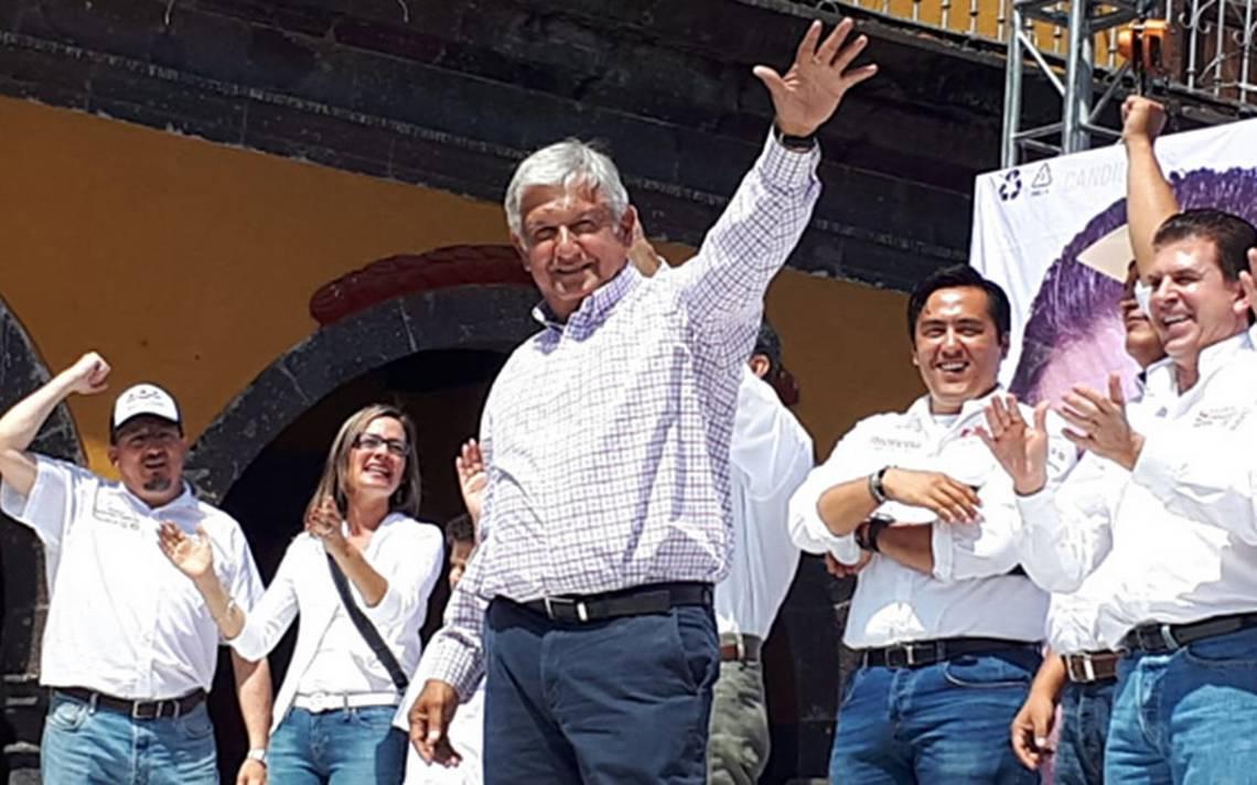 Respaldaré a EPN hasta que concluya su mandato para lograr una transición pacifica: AMLO