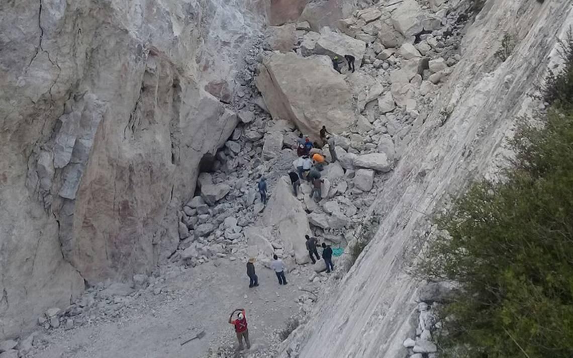 Rescatan el quinto cuerpo tras derrumbe de mina en Hidalgo