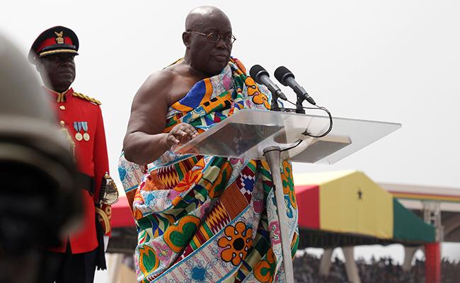 Presidente ghanés  piratea discursos  de Clinton y Bush