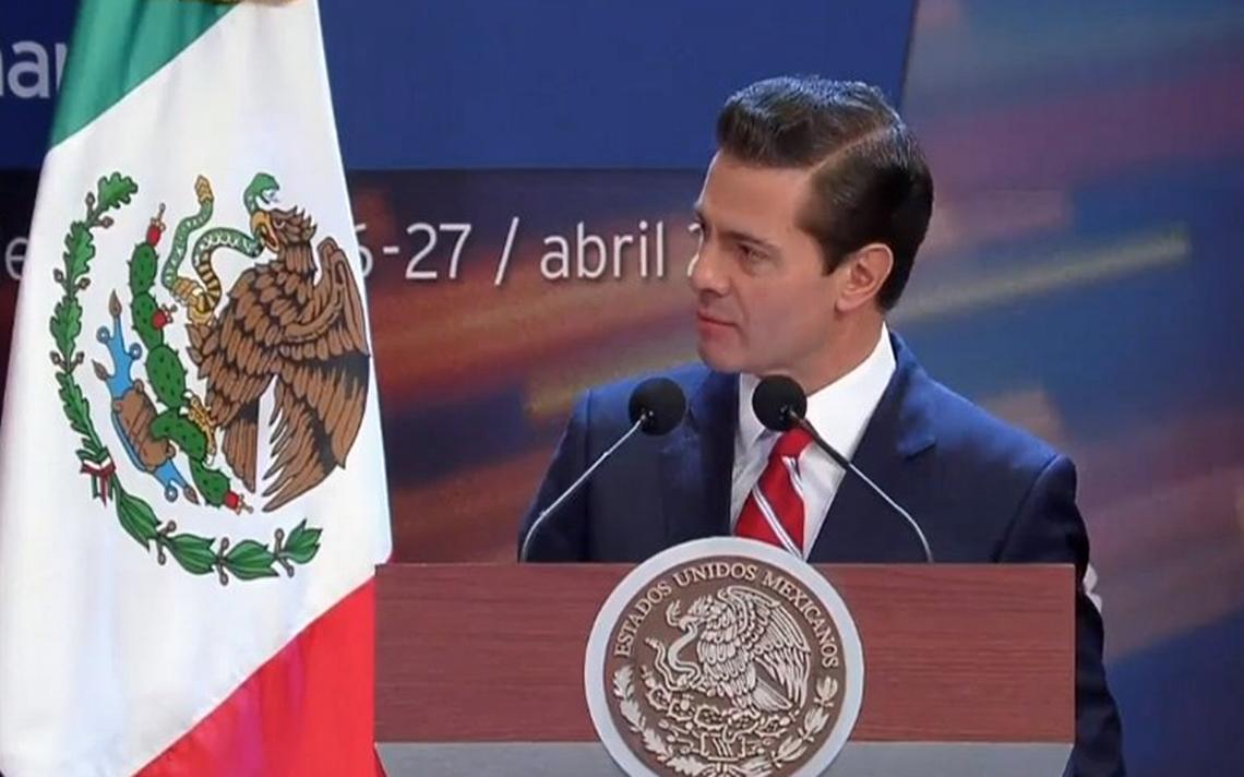 En estas elecciones, PeA�a Nieto pide votar con la razA?n y no con el estA?mago