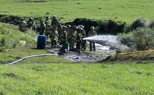 Huachicoleros llegan a la CDMX y provocan fuga tras robo de combustible