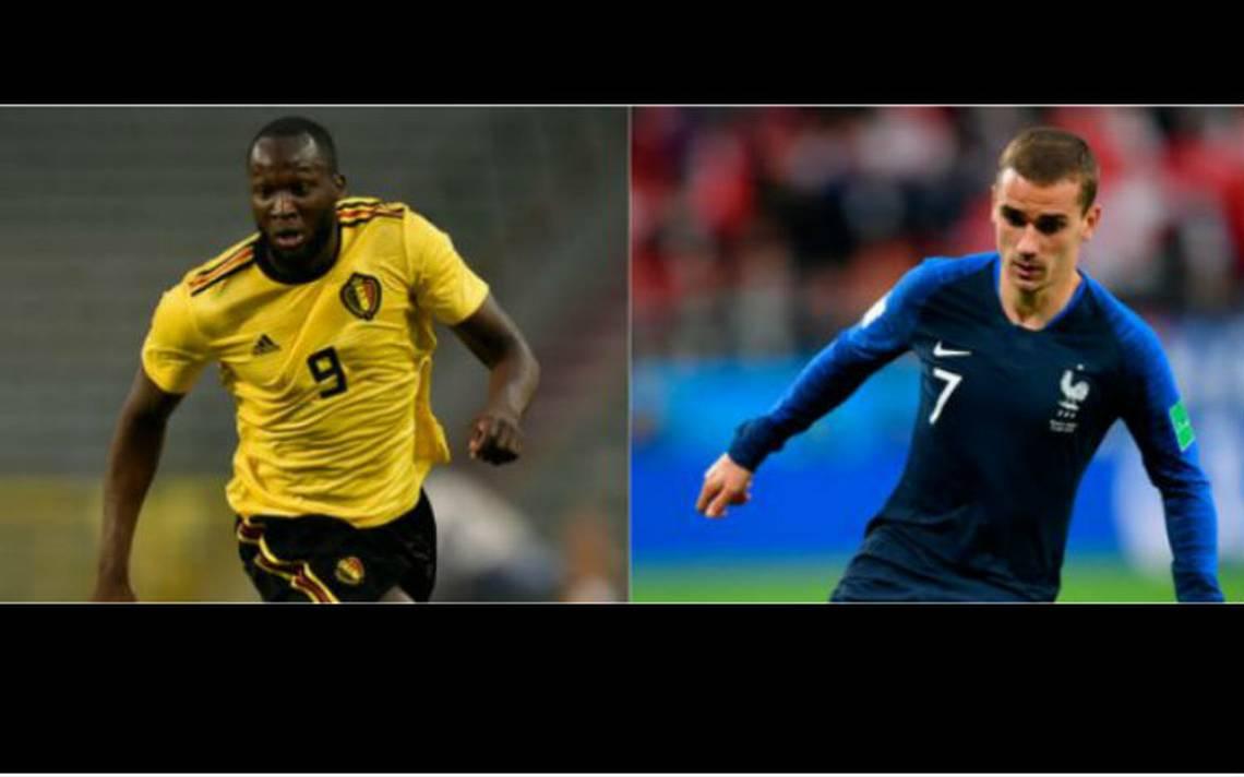 Francia vs Bélgica, un duelo de artilleros