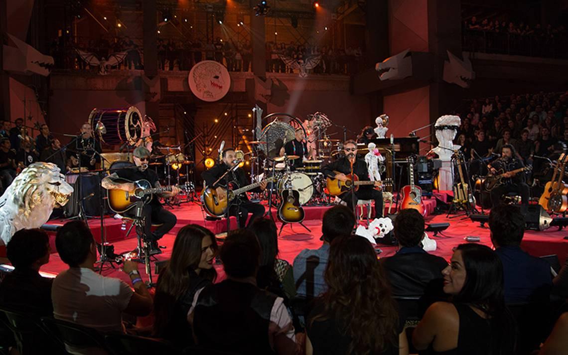 Molotov grabó su MTV Unplugged en la Ciudad de México