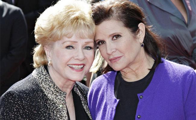 Alistan funeral íntimo para Debbie Reynolds y Carrie Fisher