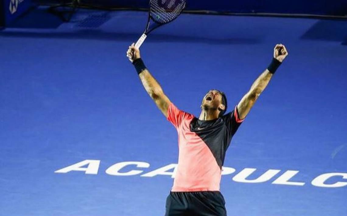 Tras ganar en Acapulco, Del Potro asciende en el Top 10 de la ATP