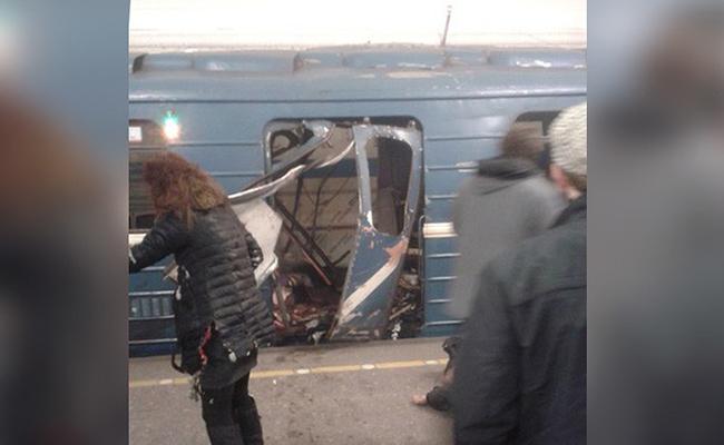 """Abren investigación por """"acto terrorista"""" tras explosión en San Petersburgo"""