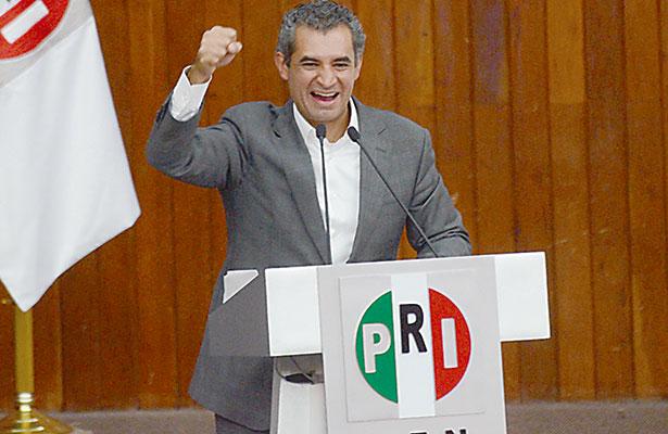 """Asegura Ochoa Reza que el PRI ganará """"tres de tres"""" gubernaturas"""