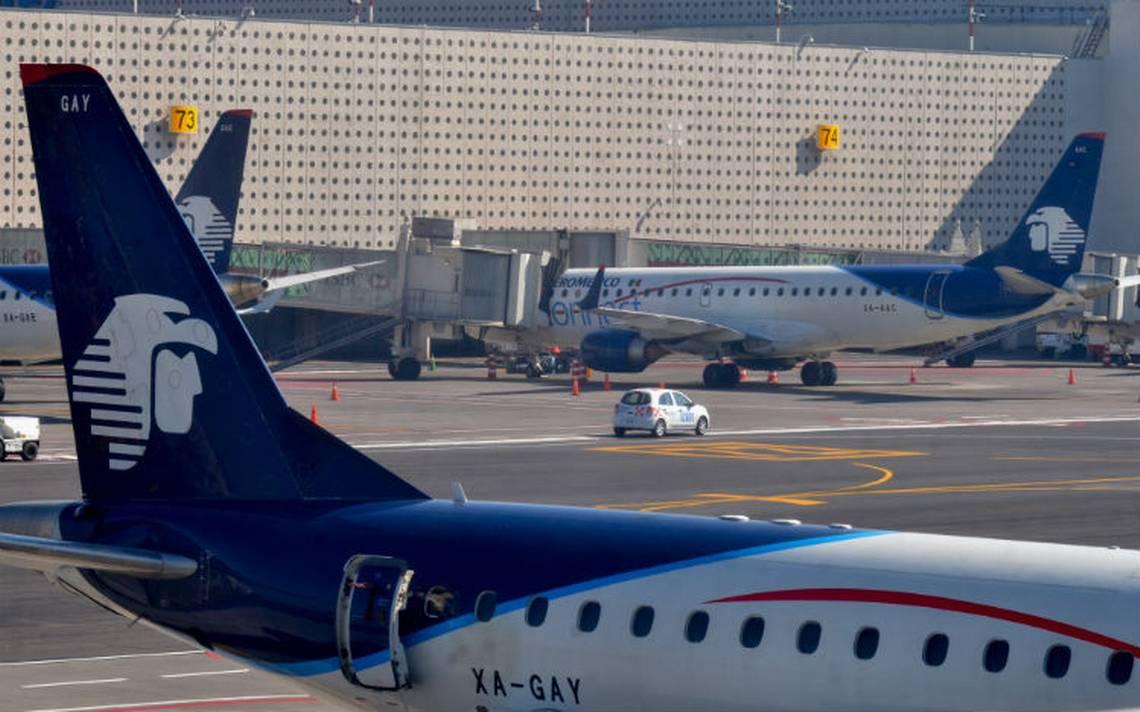 Pilotos de Aeroméxico alistan huelga por violaciones al contrato de trabajo