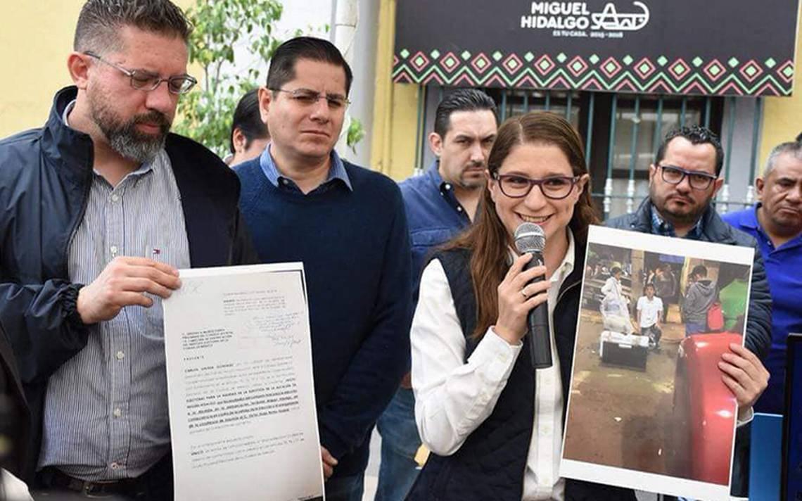 """""""Hay irregularidades"""", Magui Fisher impugna elección de alcaldía en la Miguel Hidalgo"""
