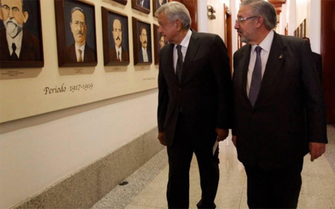 Poder Judicial reducirá gastos por 5 mil mdp, informa AMLO