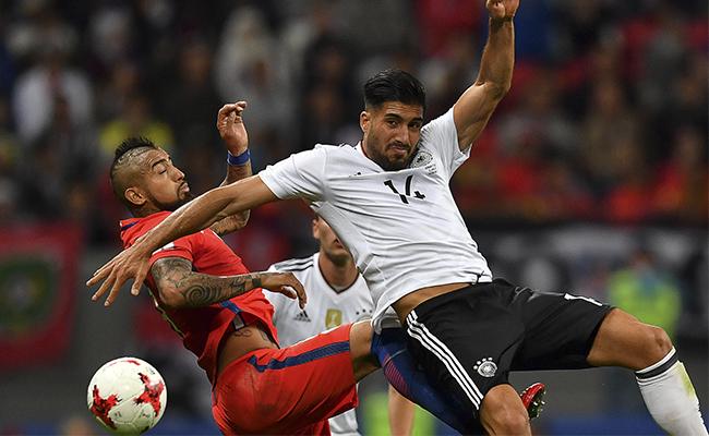 ¡Quedan a deber! Alemania y Chile empatan en Confederaciones