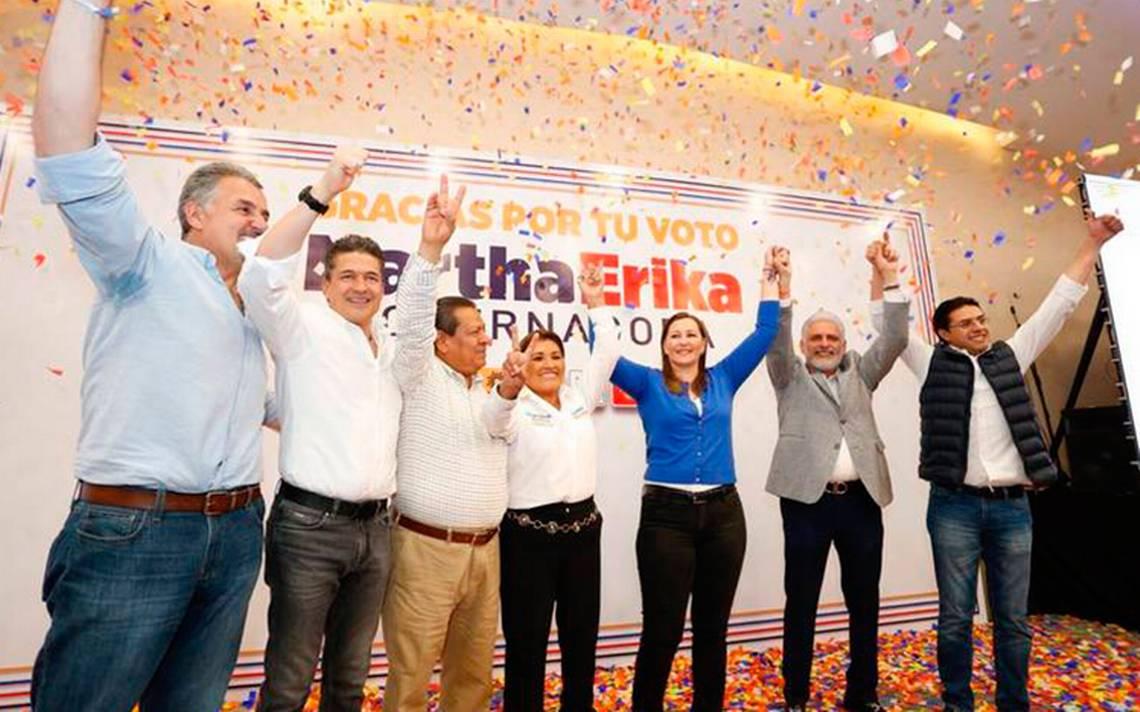 Con margen cerrado, Martha Erika lidera conteo del PREP en Puebla